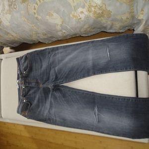 Versace skinny jeans/new/slim/28/gray/ distressed